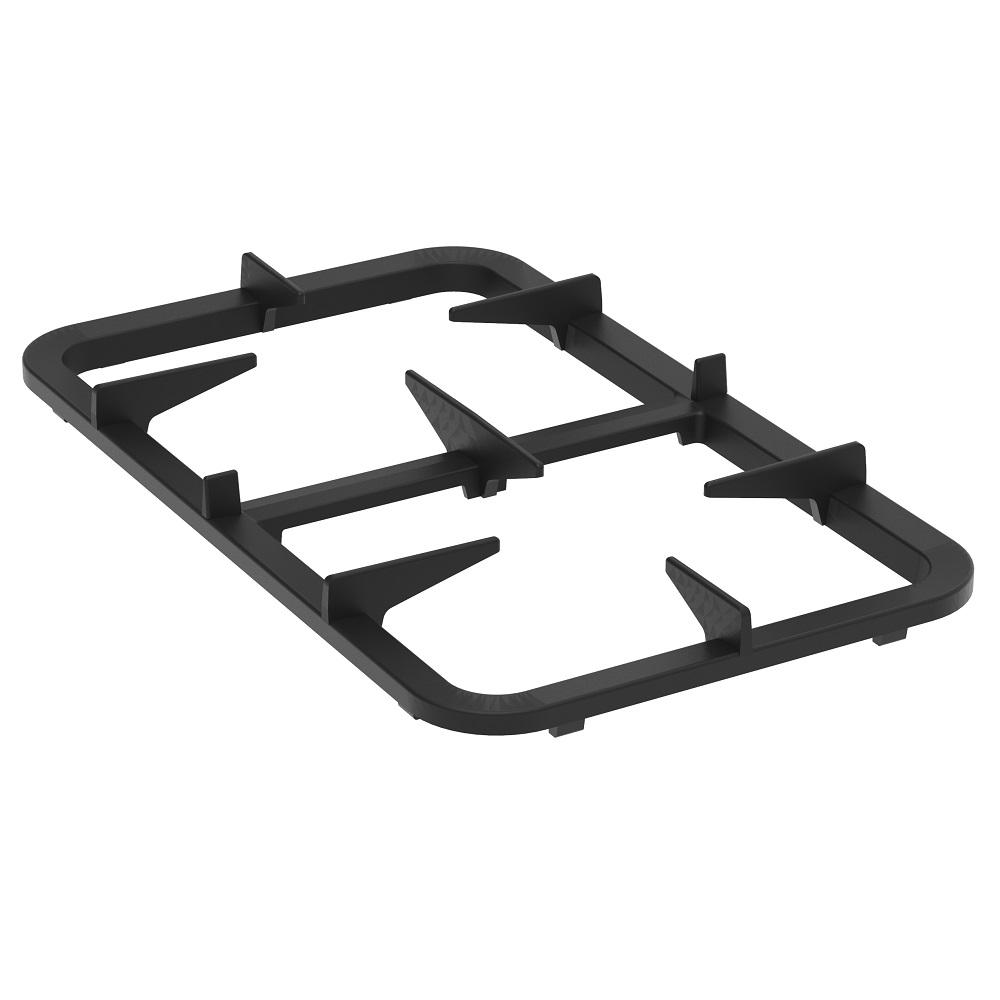 Eurast 4A000673 Parrilla fundicion doble para gama 600 snack - 315x520 mm