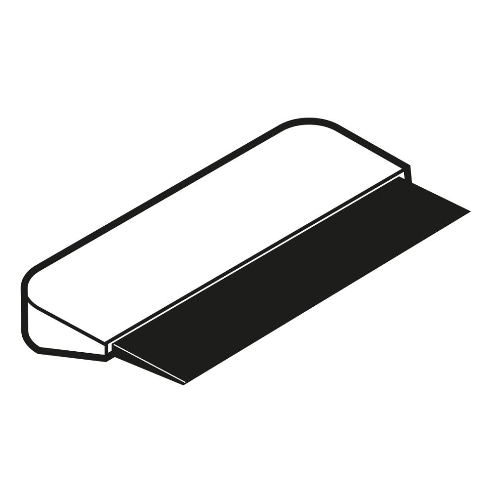 Eurast 4A795021 Kit de 10 cuchillas para espátula de cromo duro