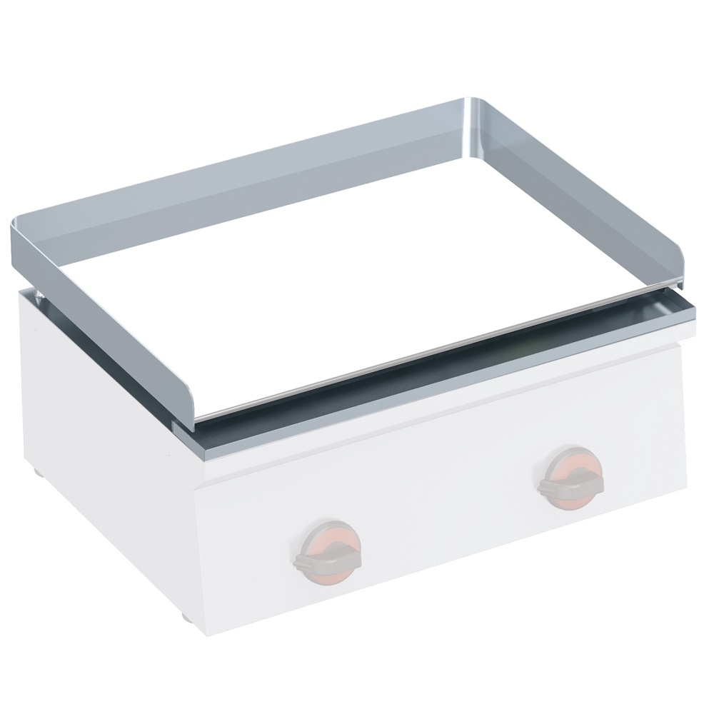 Eurast 444301P Placa plancha lisa cromo duro 12 mm espesor - 600x420x40 mm