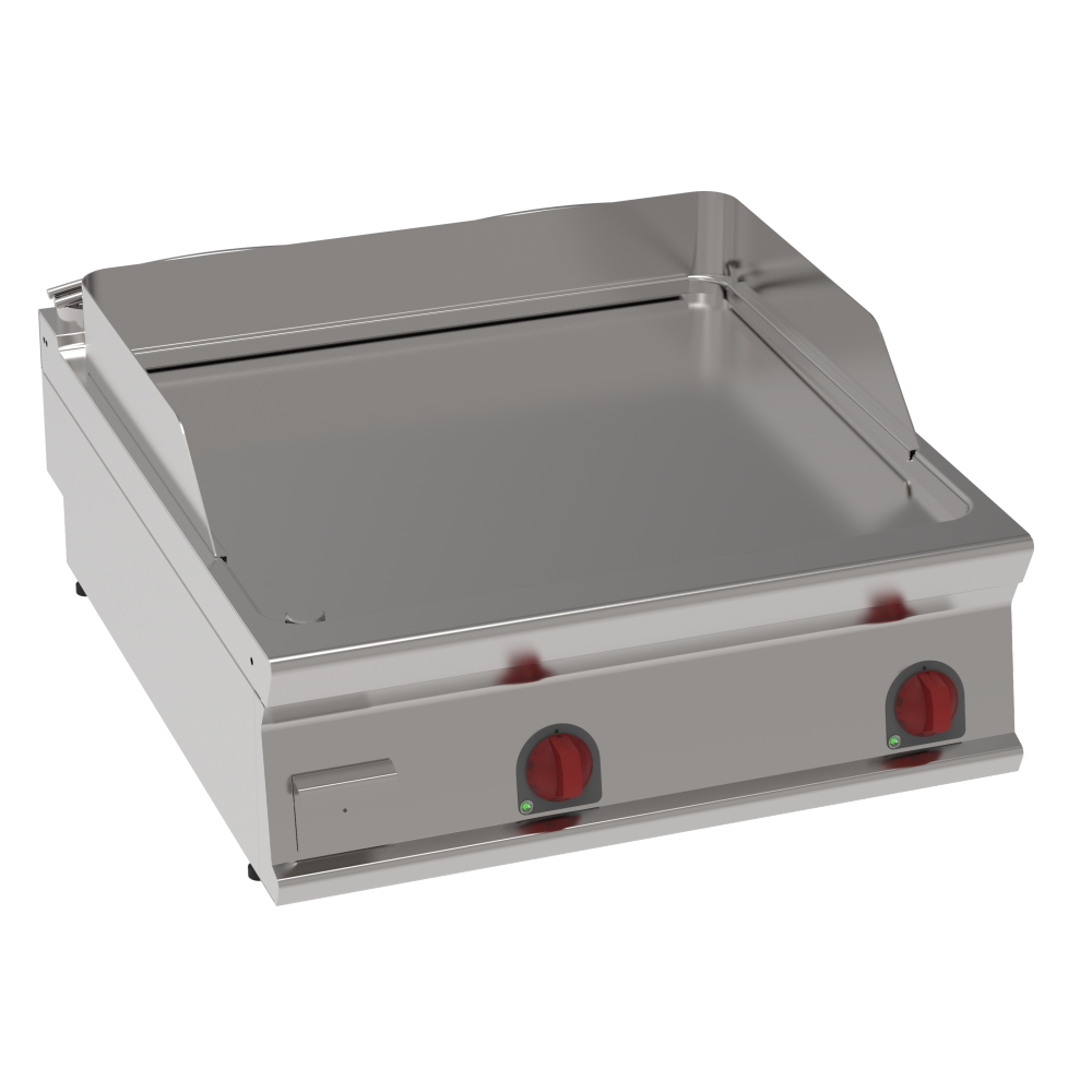 Eurast 36950613 Electric iron hot plate 15 mm  smooth table top - 800x900x280 mm - 12 Kw 400/3V
