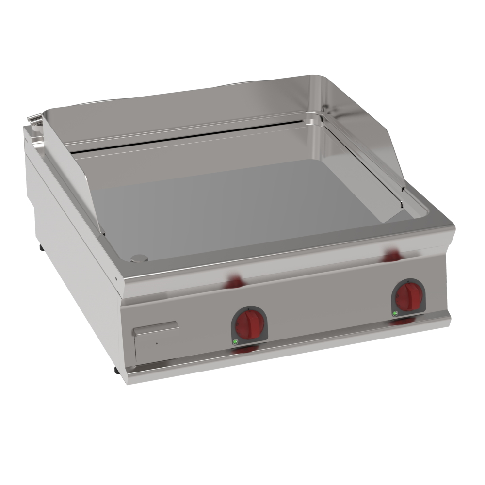 Eurast 36360613 Electric hard chrome hot plate 15 mm smooth table top - 800x900x280 mm - 12 Kw 400/3