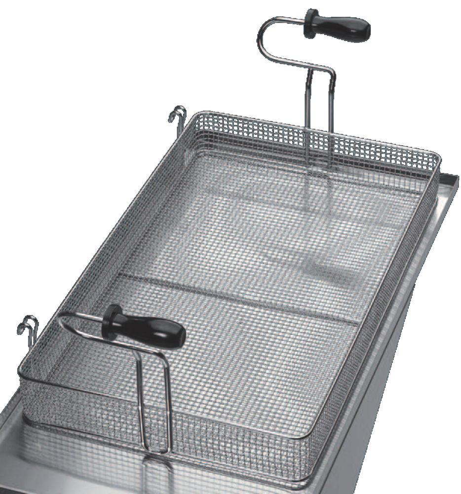 Eurast 4A775401 Fryer basket 20 lts. for pastry - 580x320x70 mm
