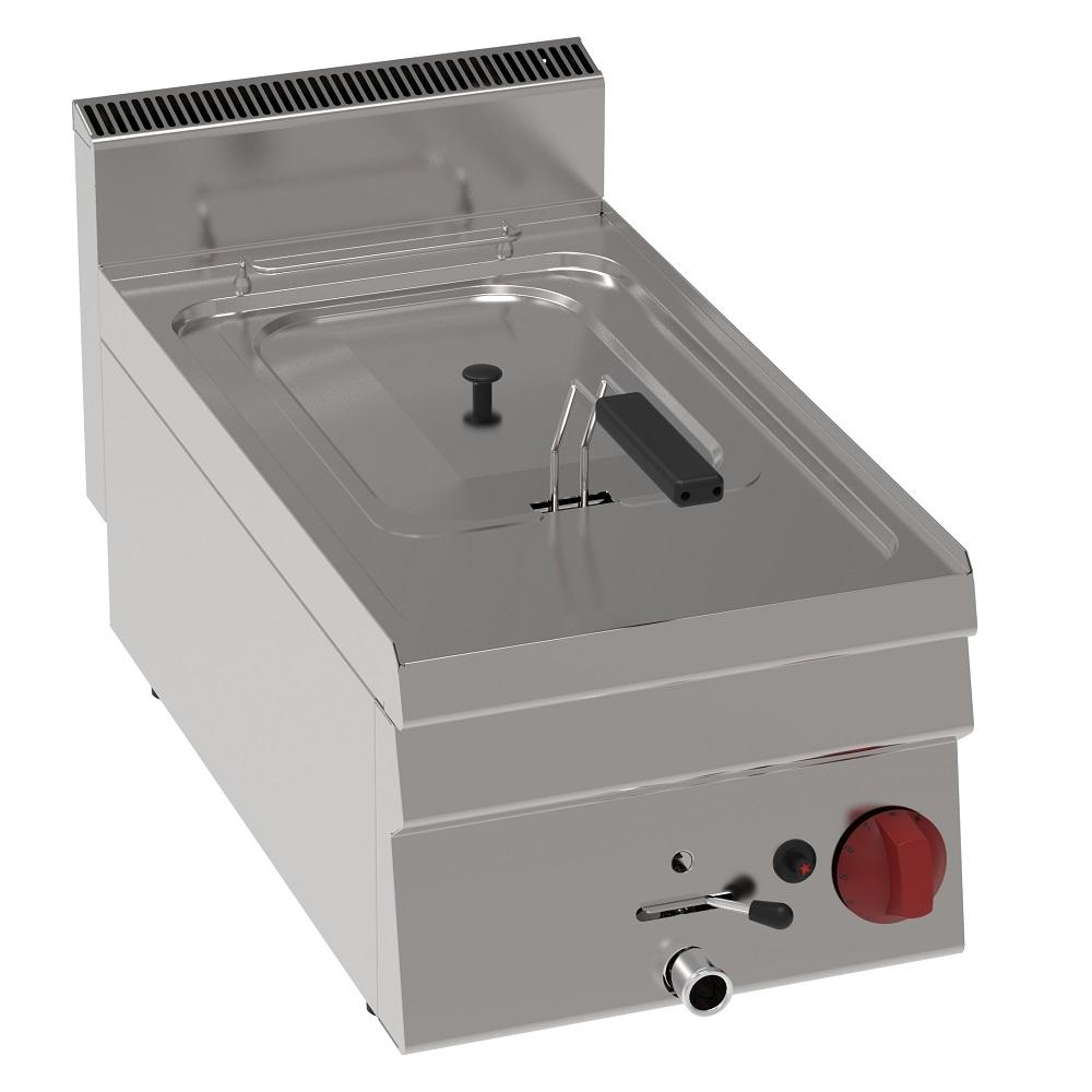 Eurast 30720321 Gas fryer 10 liters tabletop - 350x600x280 mm - 6.25 Kw