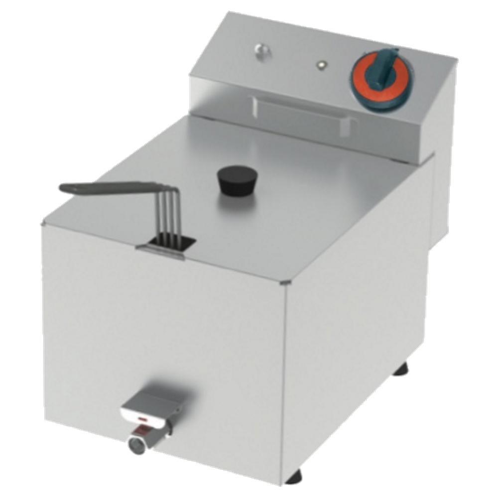 Eurast 4410CL01 Freidora electrica 10 litros de sobremesa - 270x450x320 mm - 4,2 Kw 230/1V
