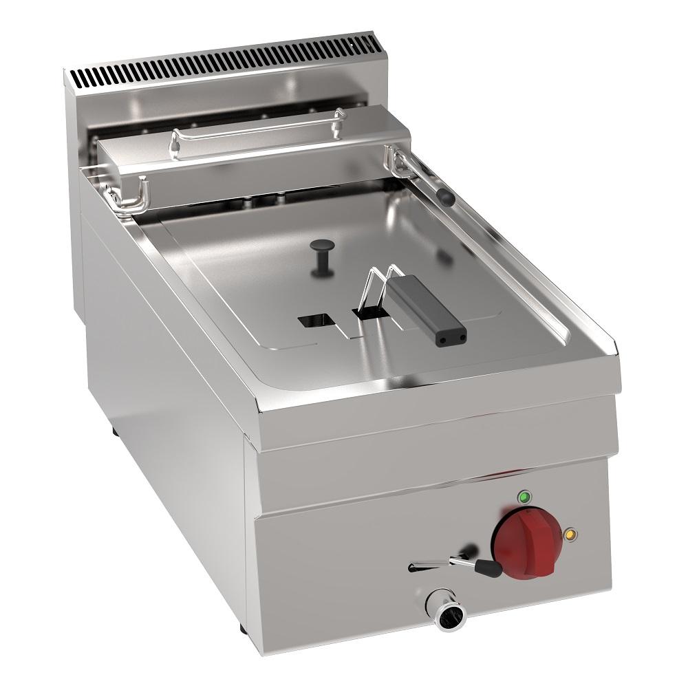 Eurast 30230621 Electric fryer 10 liters tabletop - 350x600x280 mm - 6 Kw 400/3V