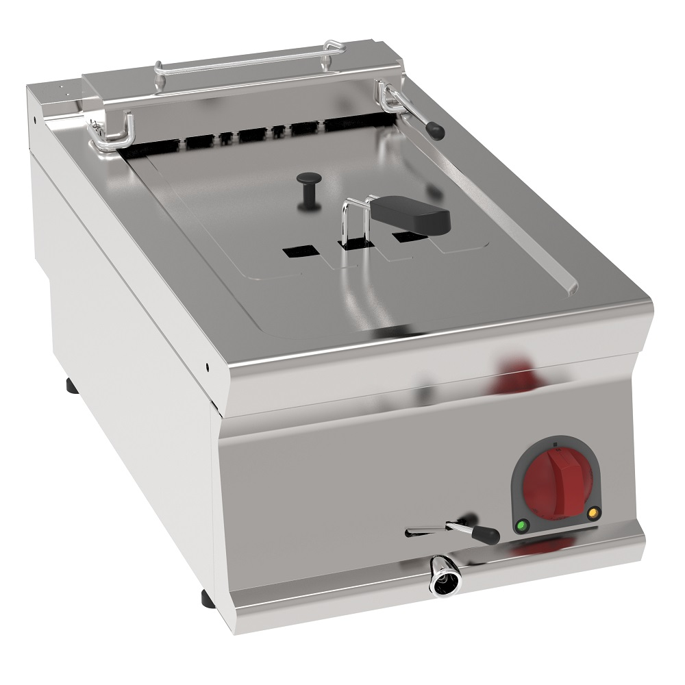 Eurast 39490617 Freidora electrica 10 litros de sobremesa - 400x700x280 mm - 7,5 Kw 400/3V