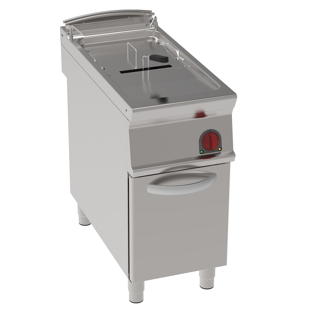 Eurast 39180613 Electric fryer 20 liters on support - 400x900x900 mm - 16,5 Kw 400/3V