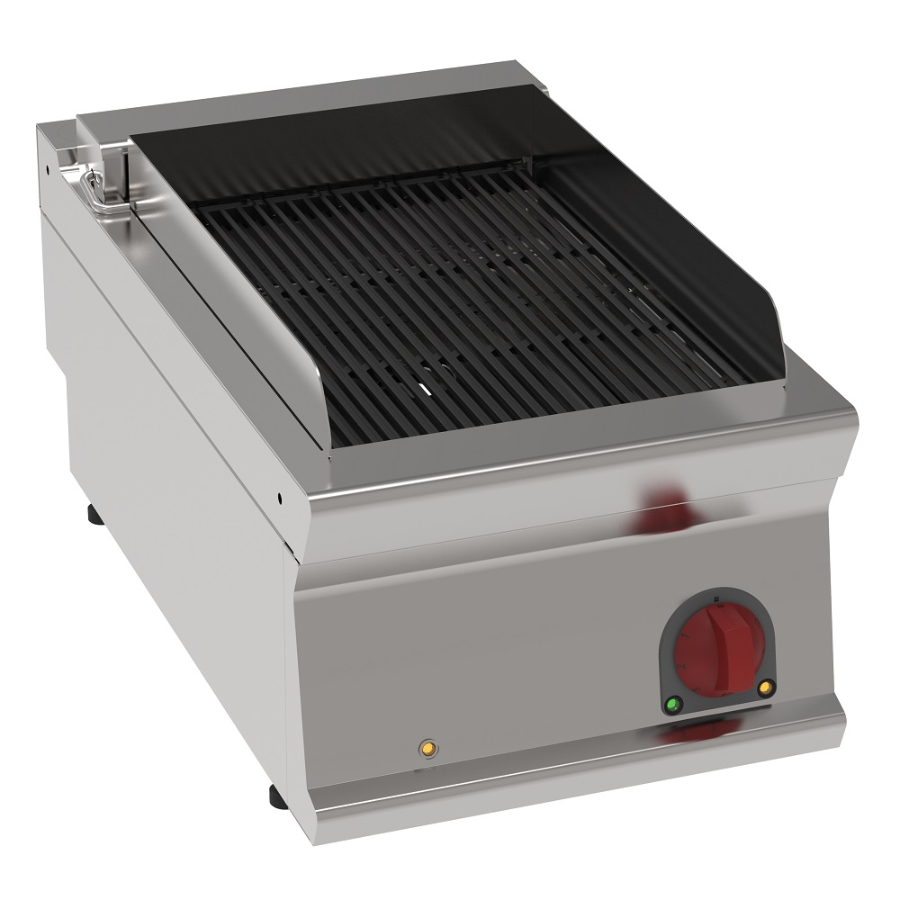 Eurast 47431617 Electric vapor grill on table top - 400x700x280 mm - 6,6 Kw 400/3V