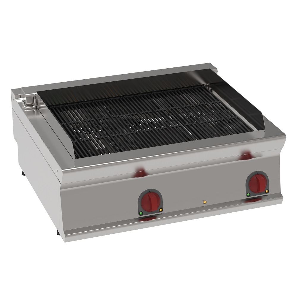 Eurast 47531617 Electric vapor grill on table top - 800x700x280 mm - 13,2 Kw 400/3V