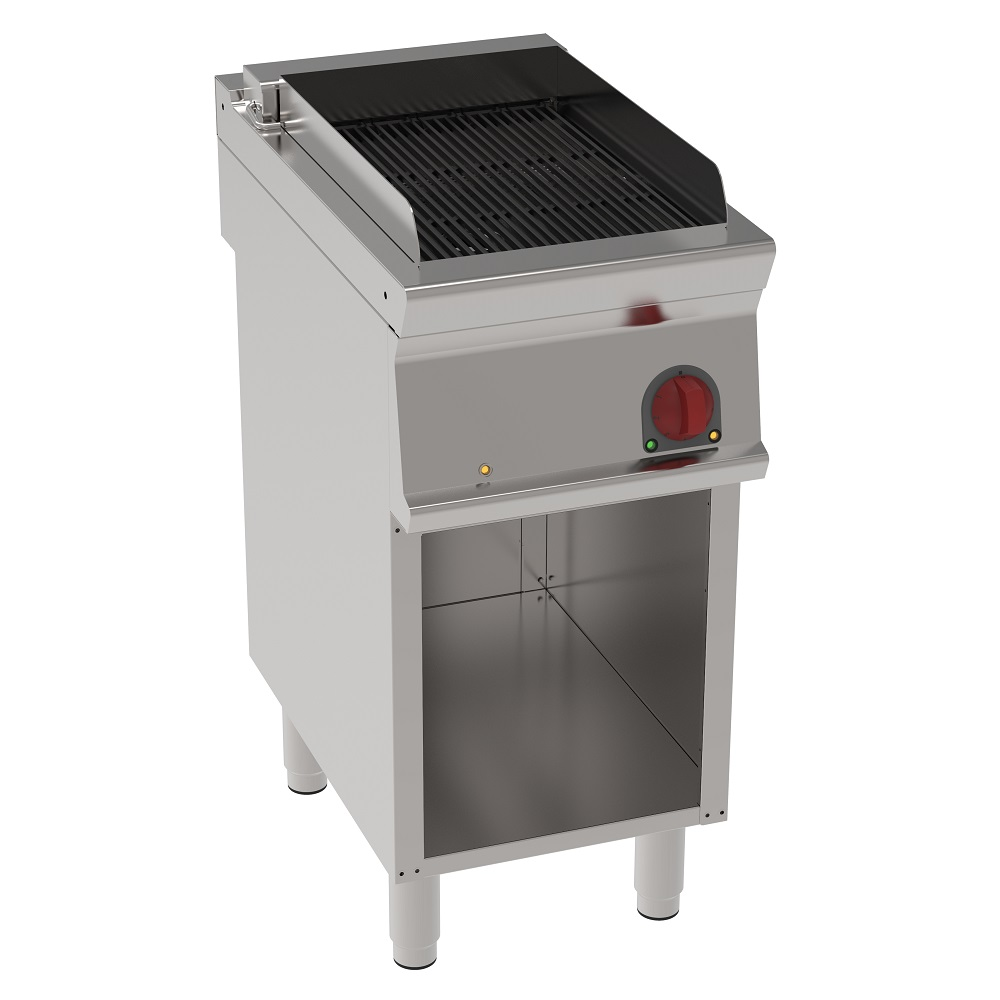 Eurast 47631617 Electric vapor grill on open support - 400x700x900 mm - 6,6 Kw 400/3V