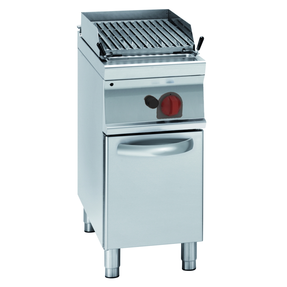 Eurast 47211317 Gas lava barbecue on support - 400x700x900 mm - 8 Kw