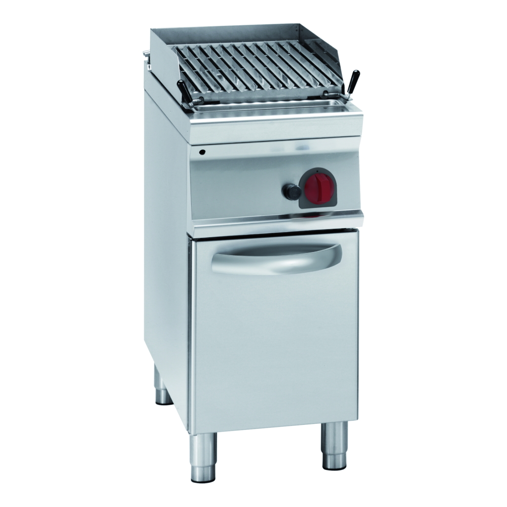 Eurast 47270313 Gas lava barbecue on support - 400x900x900 mm - 11 Kw