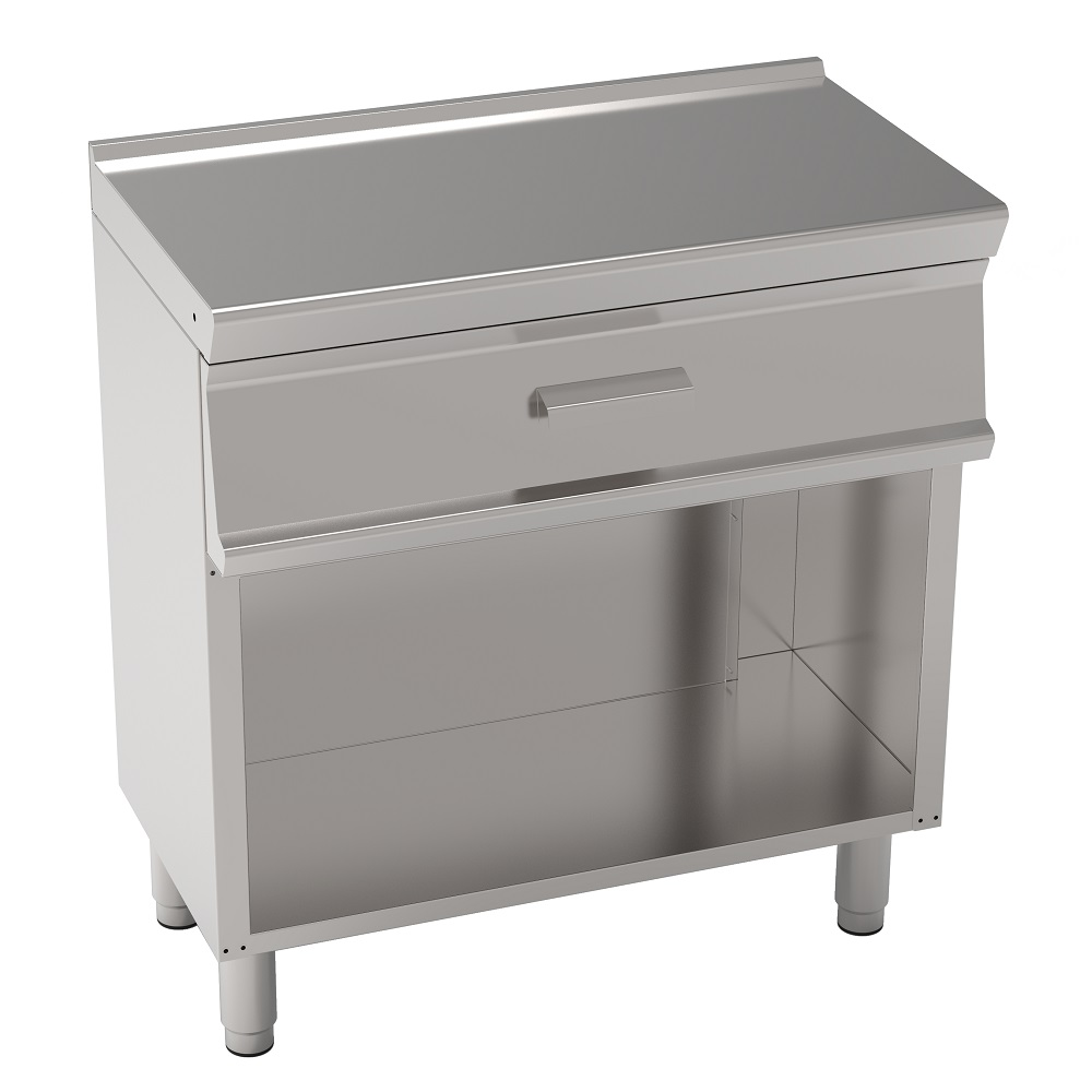SUPPORT TABLE WITH 1 DRAWER