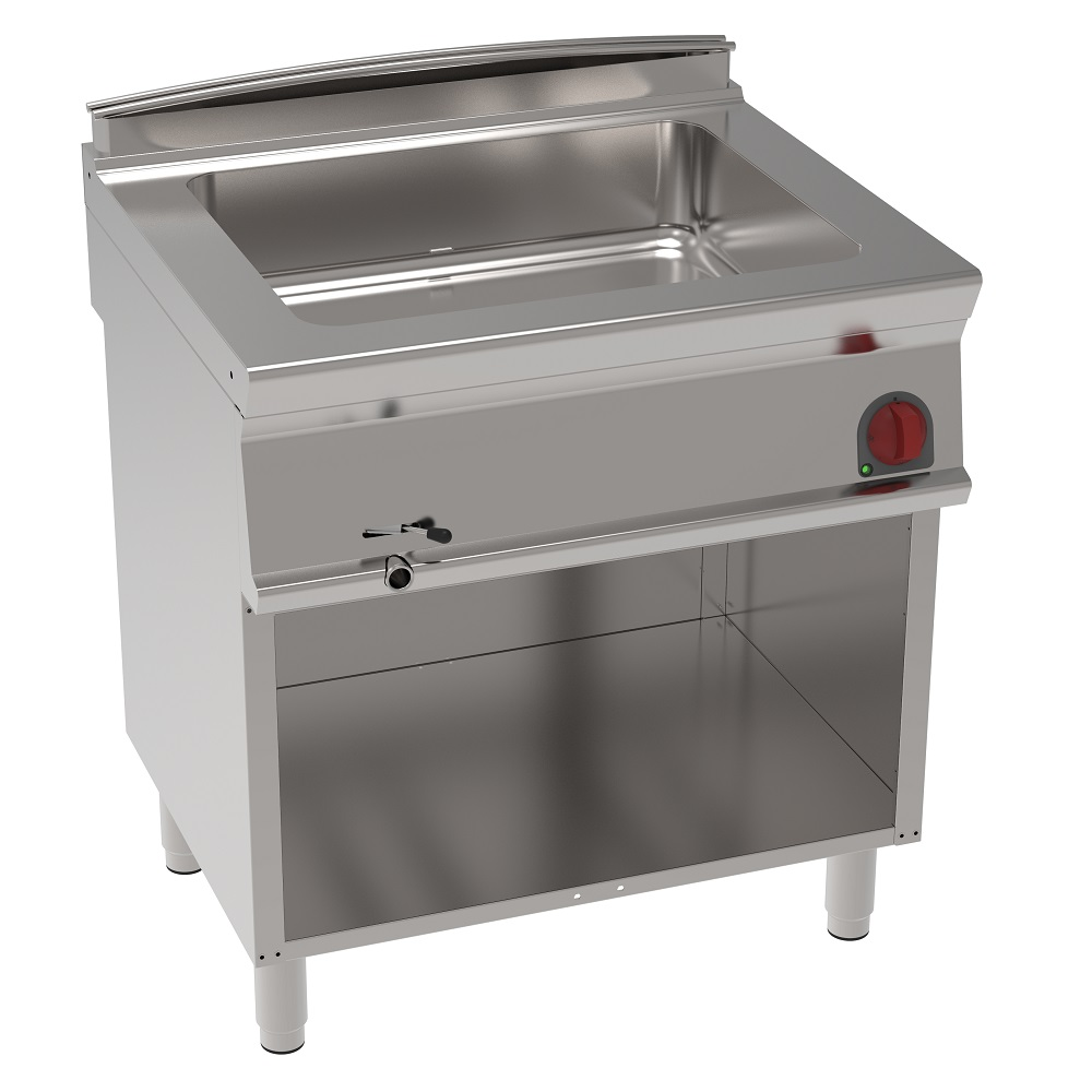 Eurast 37920617 Electric bain marie gn 2/1 on open support - 800x700x900 mm - 2,6 Kw 230/1V