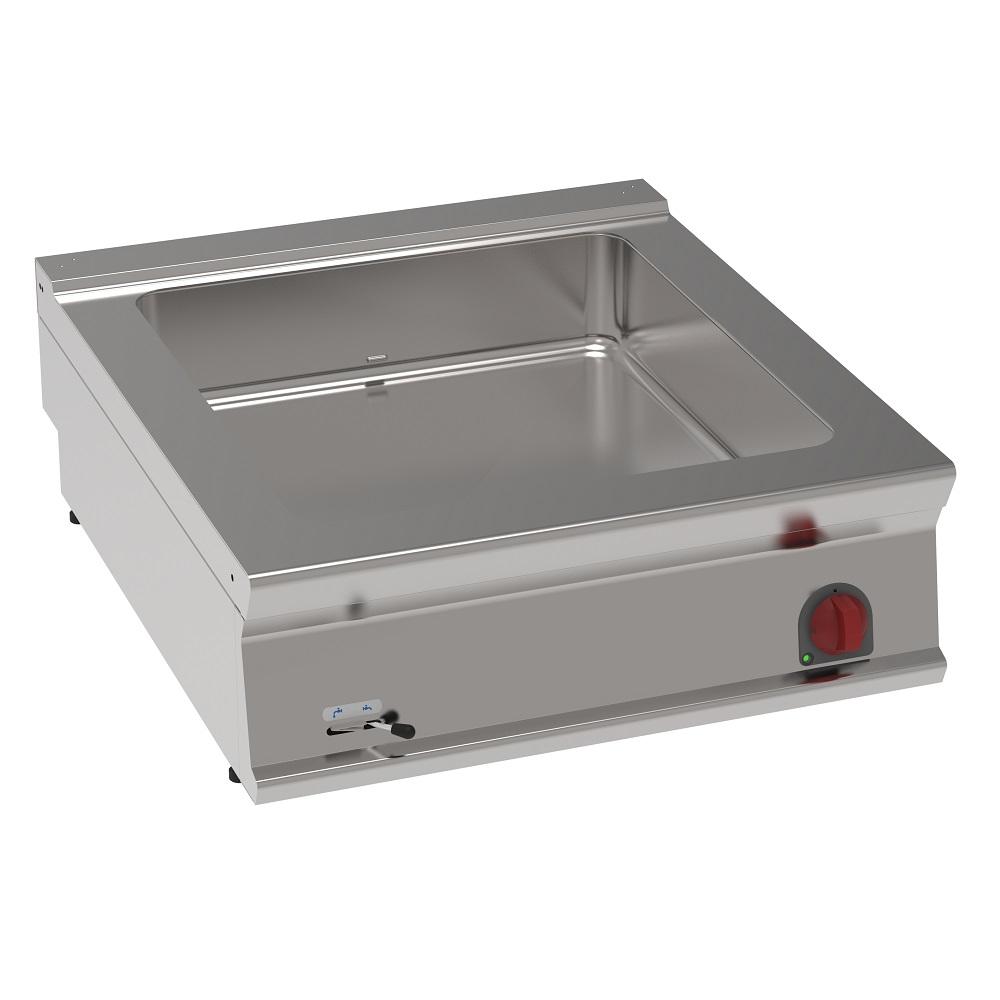 Eurast 37740613 Electric bain-marie 8 gn 1/3 on table top - 800x900x280 mm - 4,5 Kw 400/3V