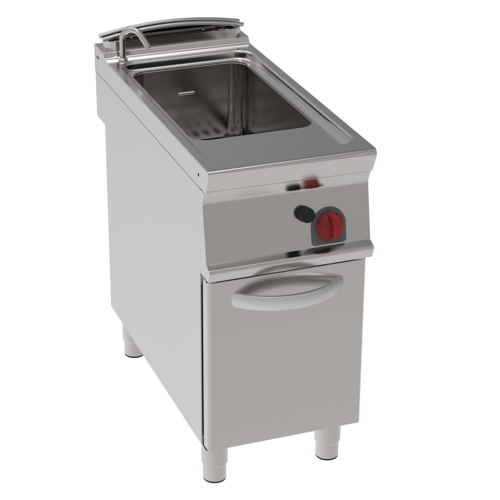 Eurast 39070313 Gas pasta cooker 40 litres 1 door - 400x900x900 mm - 15 Kw