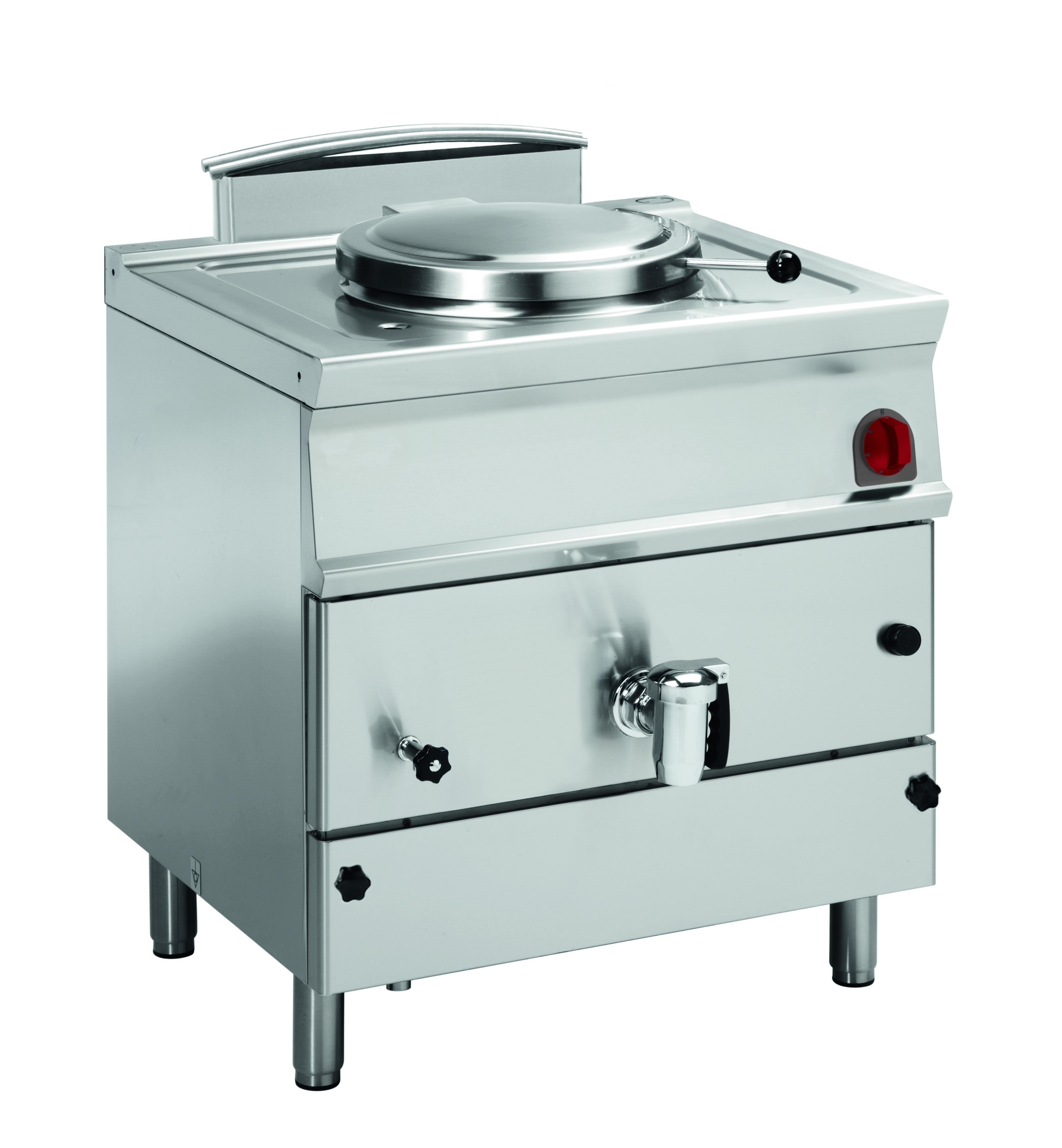 Eurast 48880317 Marmita a gas 50 litros calor indirecto - 800x700x900 mm - 15.5 Kw