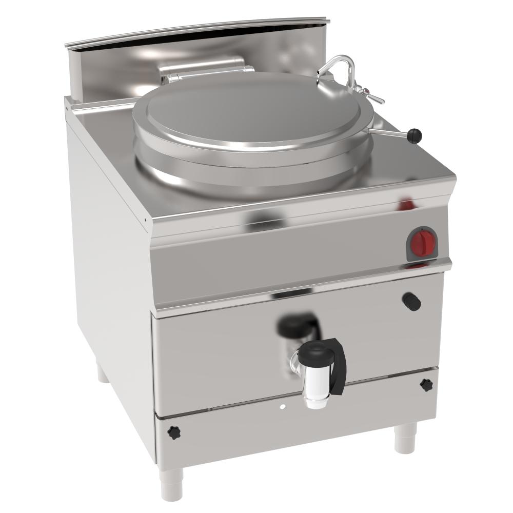 Eurast 48670313 Marmita a gas 100 litros calor directo - 800x900x900 mm - 21 Kw