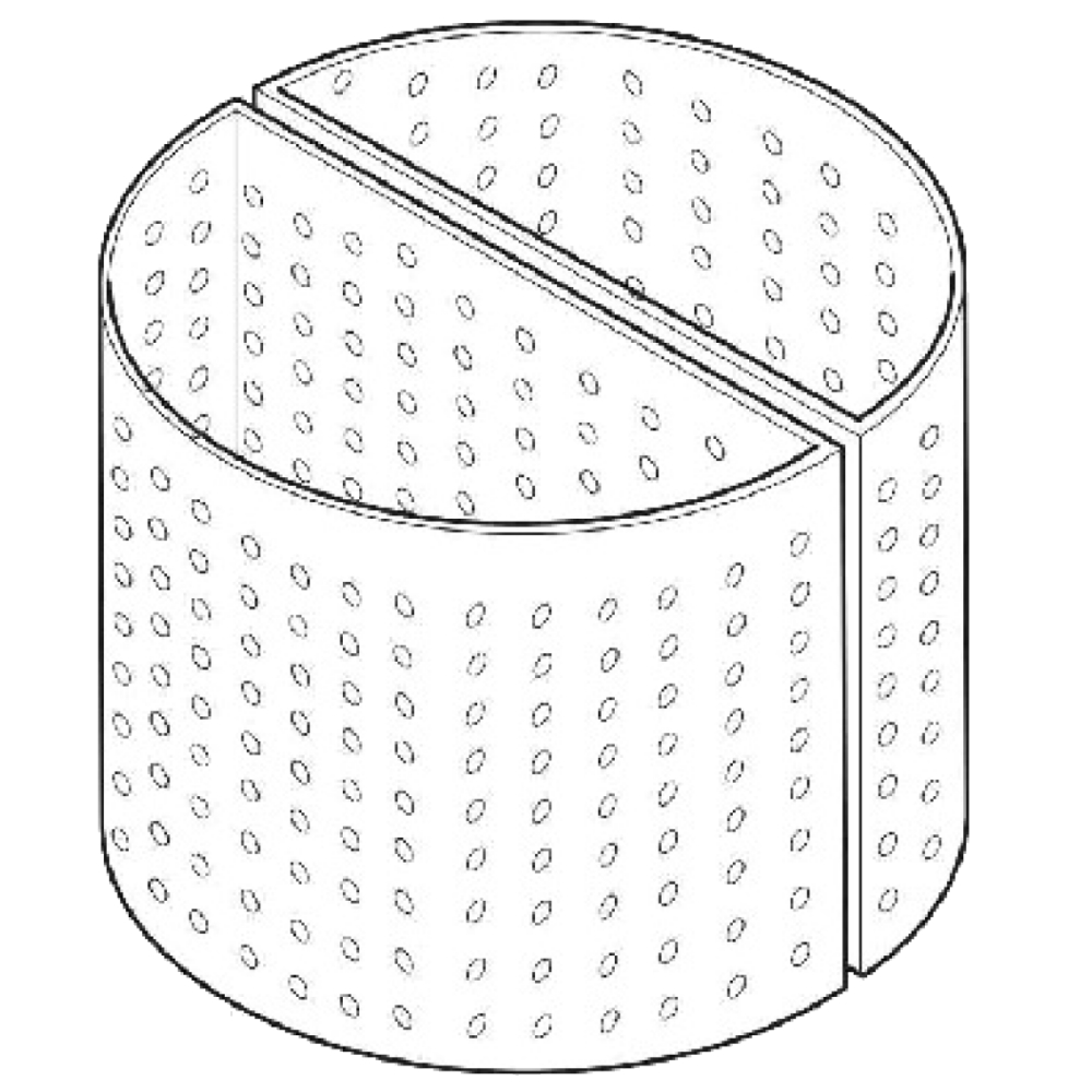 KETTLE BASKET PERFORATED A Ø 5