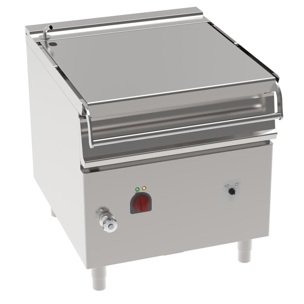 Eurast 48391613 Sarten basculante eléctrica 80 litros con motor - 800x900x900 mm - 10 Kw 400/3V