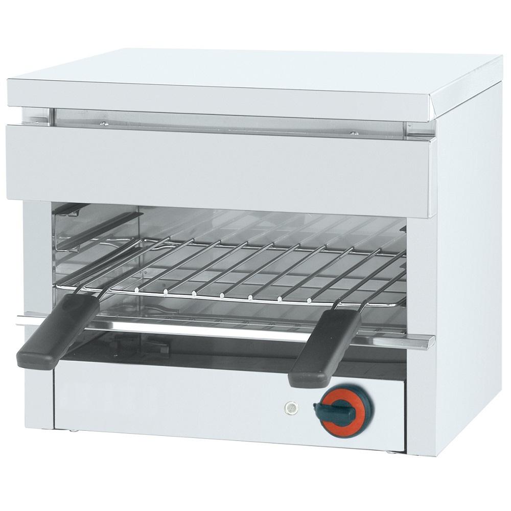Eurast 43010G08 Electric salamander grill 1 grill 39x26 - 455x340x400 mm - 2,2 KW 230/1V