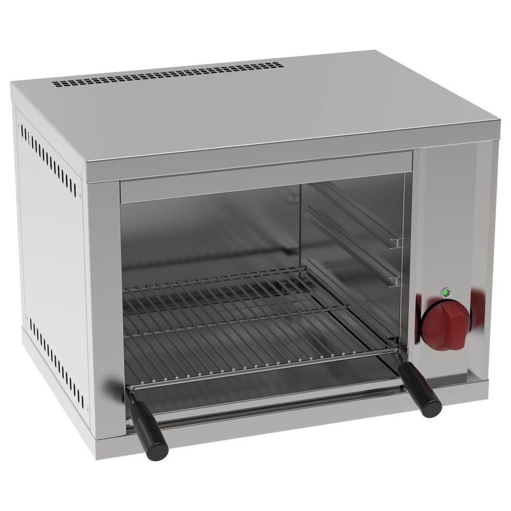 Eurast 43220612 Electric salamander grill 1 grill 38x38 - 540x400x400 mm - 2 KW 230/1V