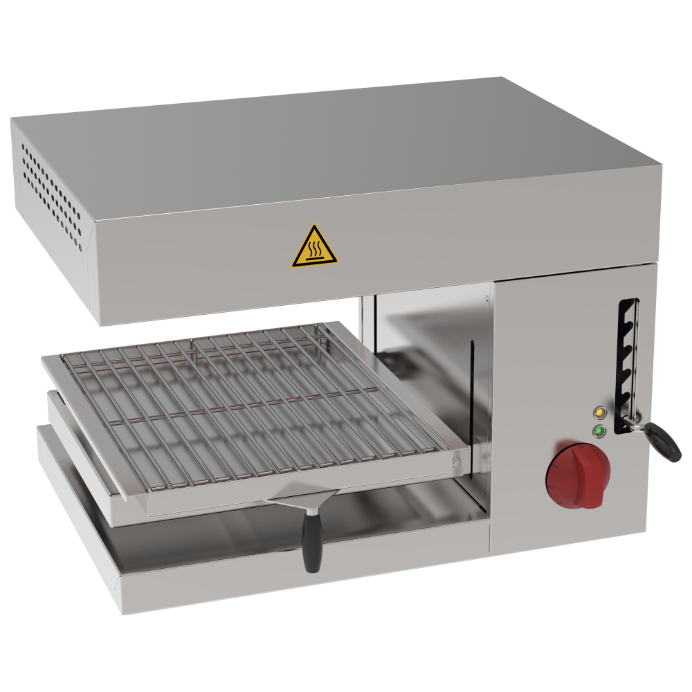 Eurast 43540612 Electric salamander grill 1 grill 38x40 - 560x400x350 mm - 2 KW 230/1V