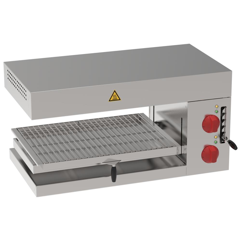 Eurast 43740612 Electric salamander grill 1 grill 57x40 - 750x400x350 mm - 4 KW 230/1V