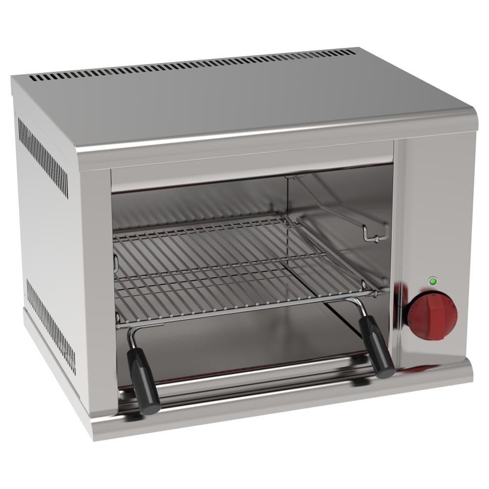 Eurast 43500612 Fast electric salamander grill 1 grill 38x39 - 540x400x400 mm - 2 KW 230/1V
