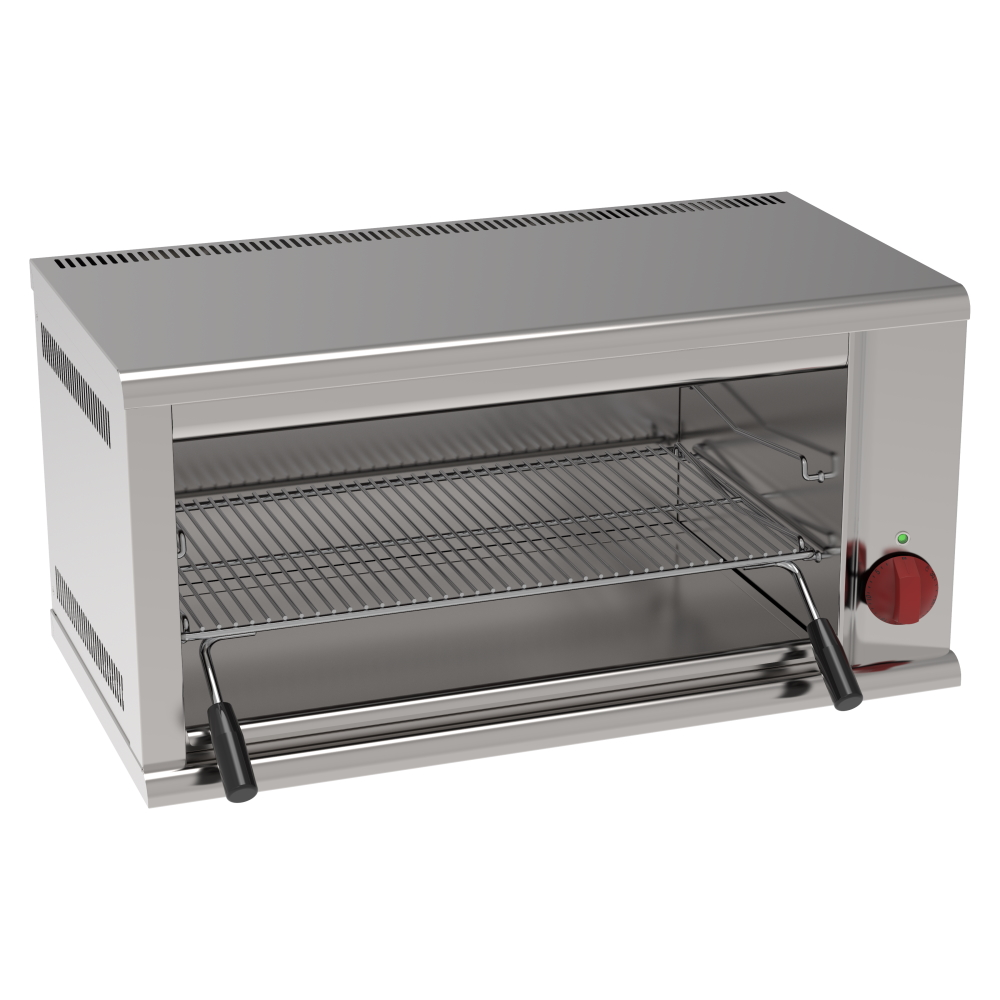 Eurast 43800612 Fast electric salamander grill 1 grill 63x39 - 790x400x400 mm - 4 KW 230/1V