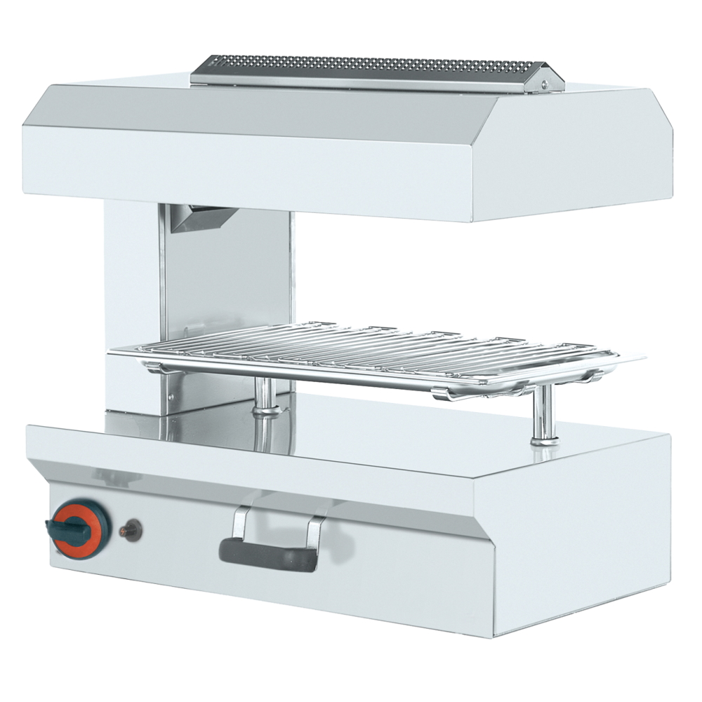 Eurast 43050G08 Gas salamander grill 1 mobile grill 53x32,5 - 630x380x580 mm - 5 Kw