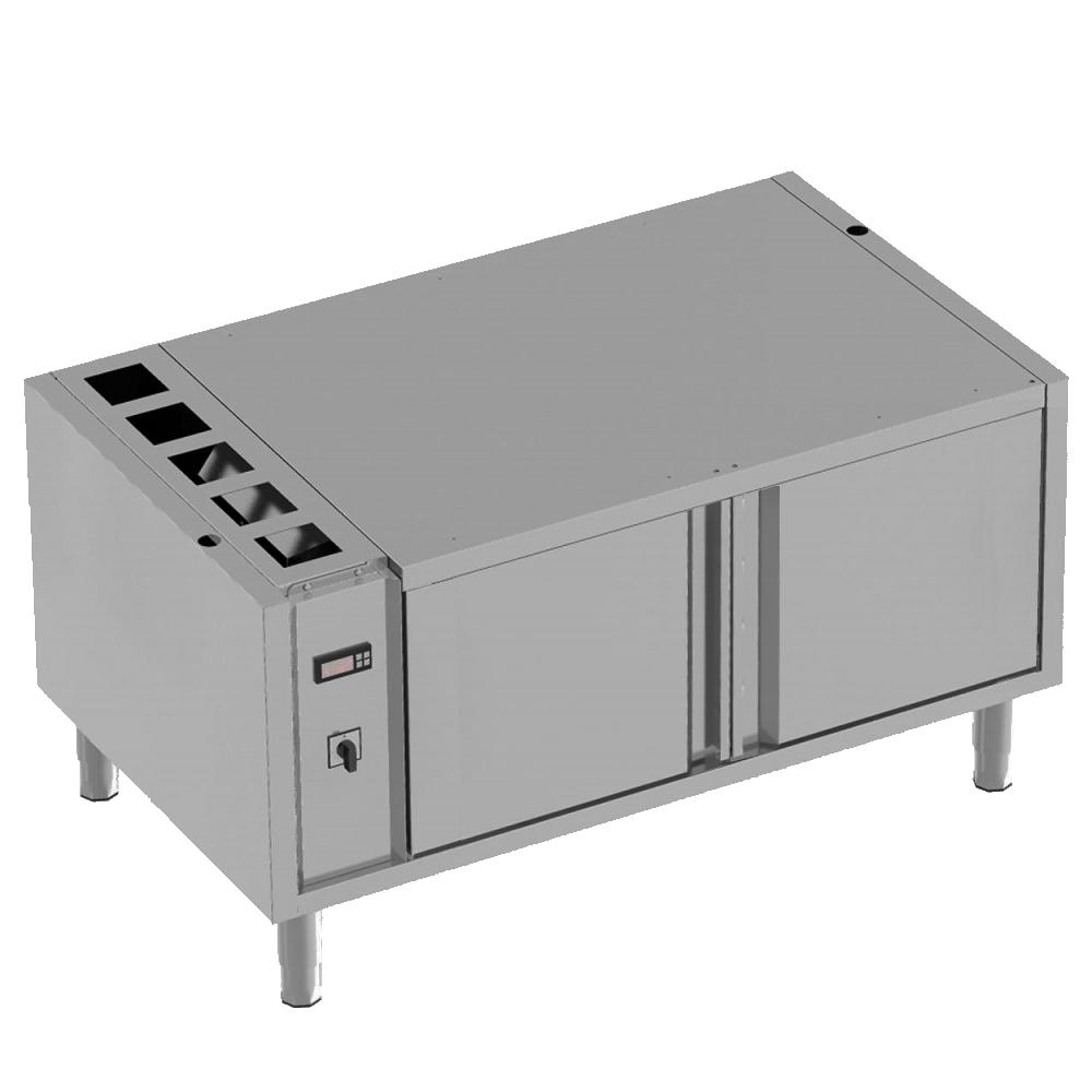 Eurast 3812CG13 Reserva caliente para comidas 2 puertas gn 1/1 - 1200x700x600 mm - 2 KW 230/1V