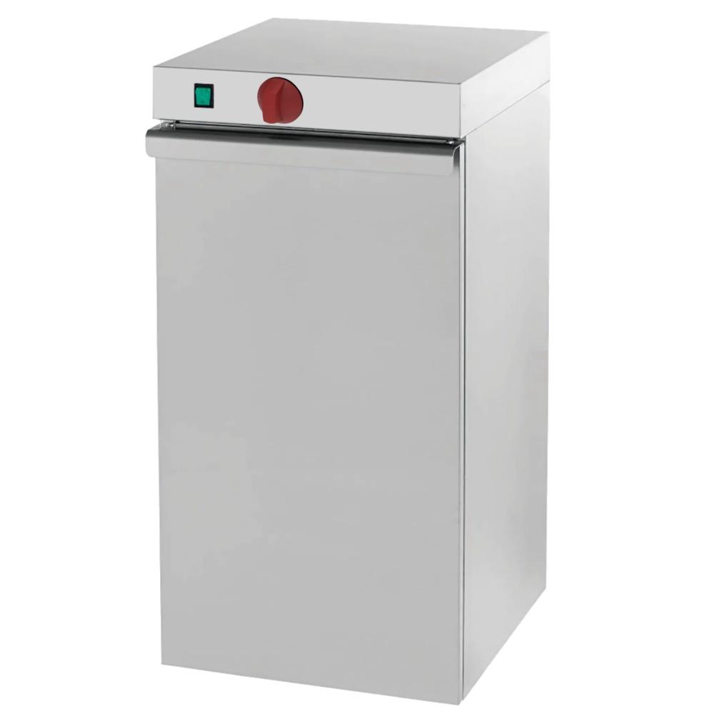 Eurast 61030240 Armario caliente electrico para platos 1 puerta - 400x460x870 mm - 400 W 230/1V
