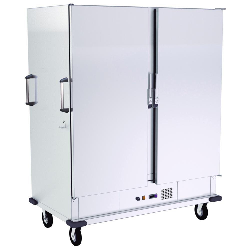 Eurast 62000040 Carro caliente ventilado eléc. humedo 40 gn 2/1 o 80 gn 1/1 - 1350x805x1740 mm - 4 K