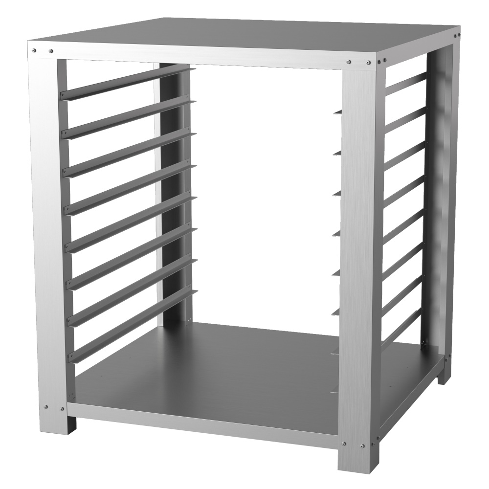 OVEN SUPPORT TABLE WITH GUIDES