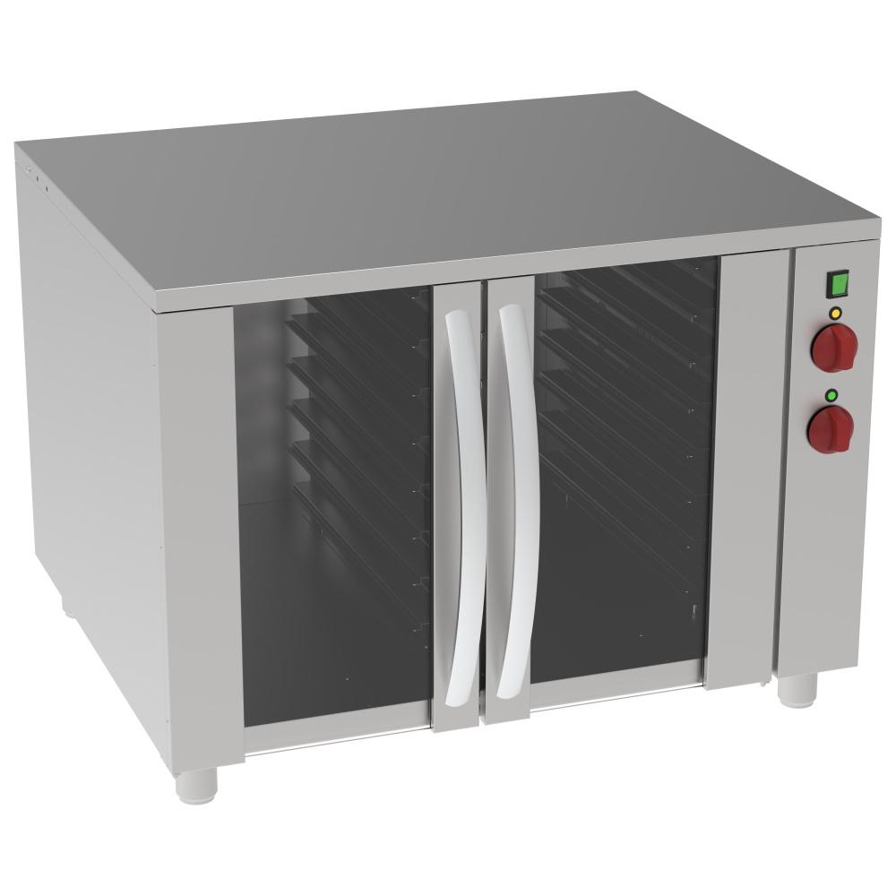 Eurast 80939169 Armario caliente o de fermentación 7+7 gn 1/1 o 600x400 - 1030x740x800 mm - 2,6 KW 2