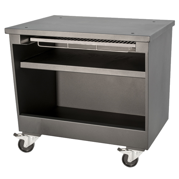 Eurast 52022077 Coal table for charcoal oven - 1280x800x730 mm