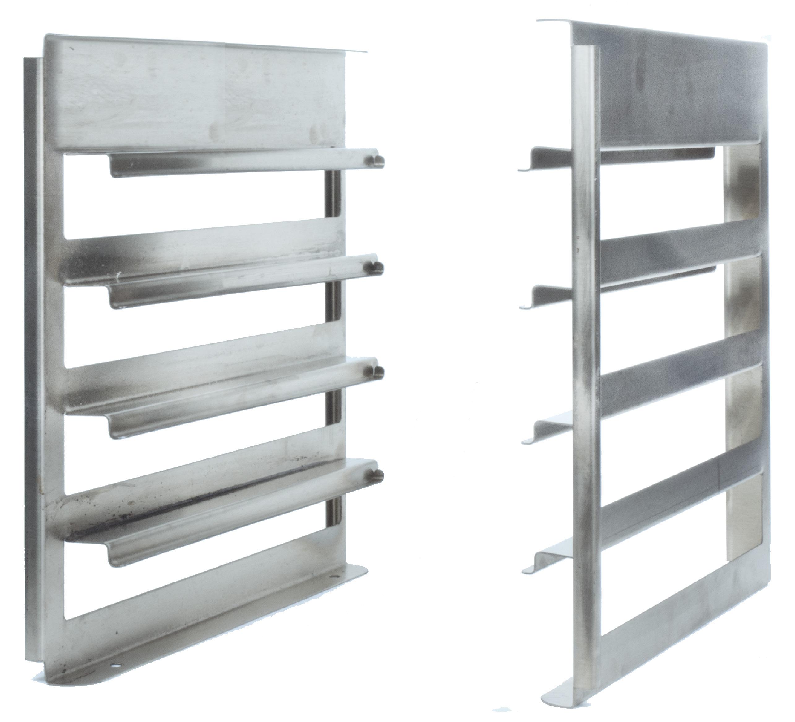 Eurast 46534202 Pastry rack (pair) 4 levels for 2 - 5 series ovens