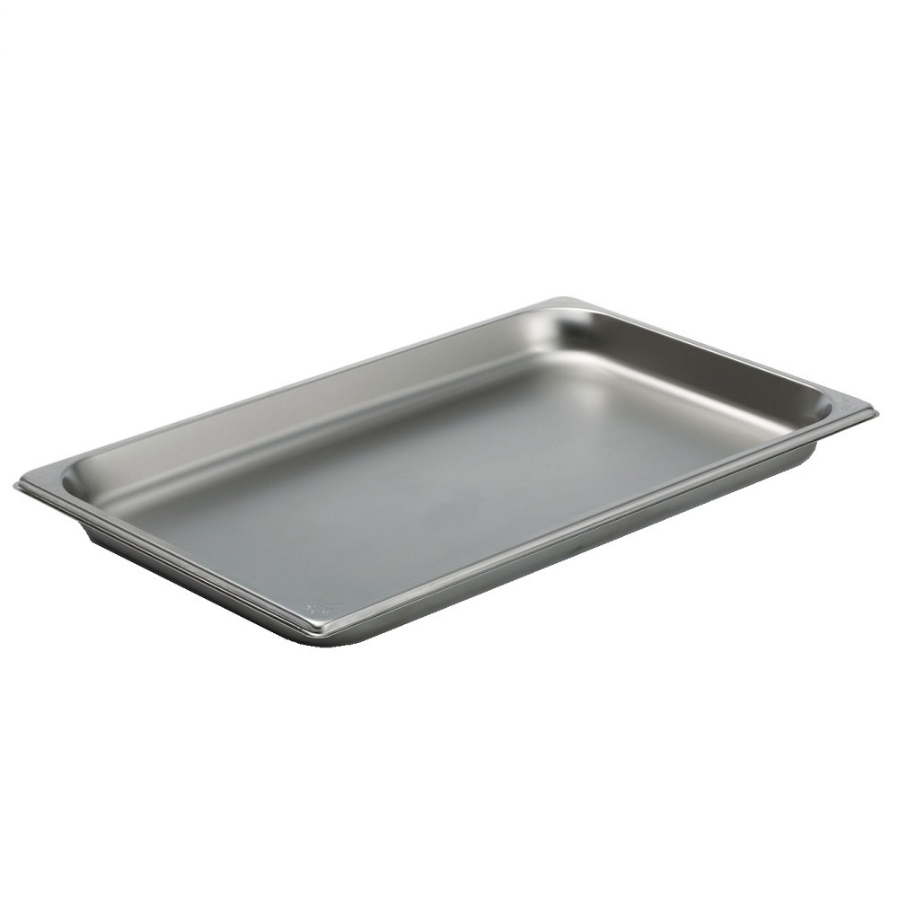 Eurast CP1102X1 Gastronorm container 1/1 - 20 stainless steel - 530x325x20 mm