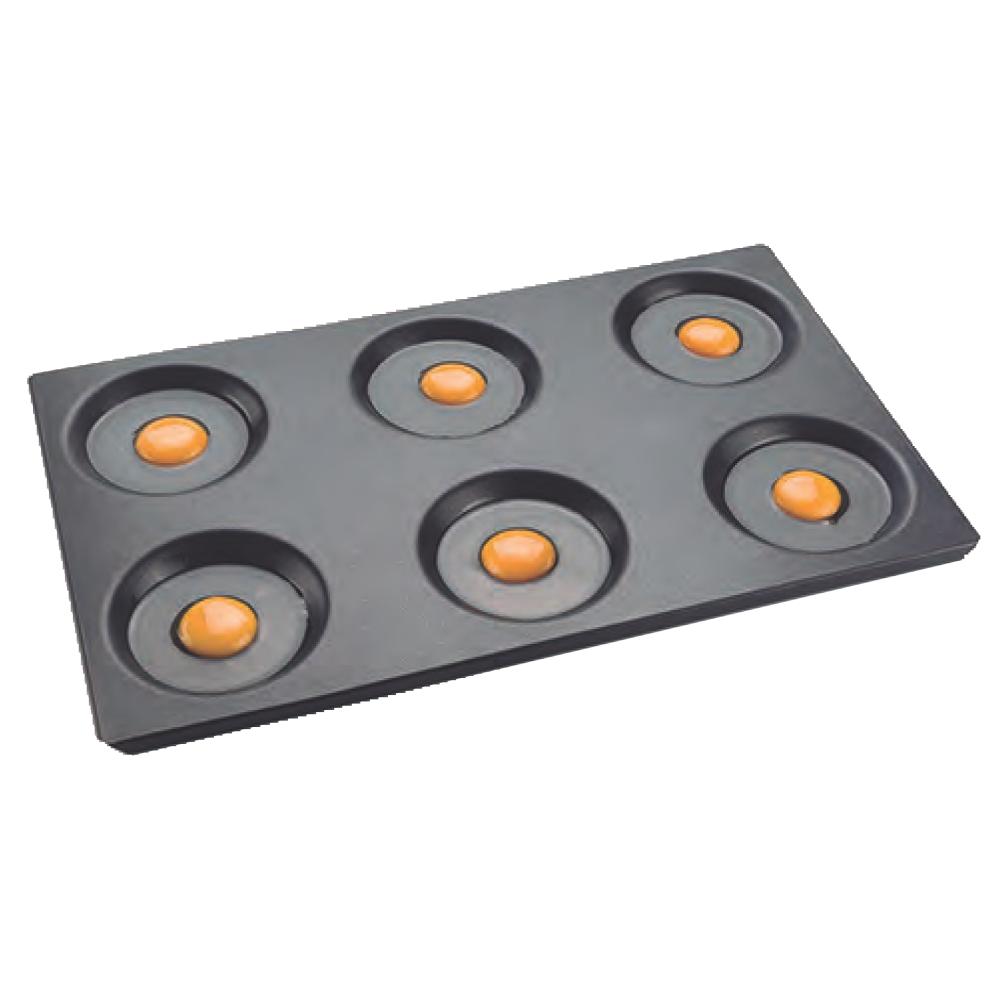 Eurast 4A623301 Bandeja para tortillas gn 1/1 - 530x325x10 mm