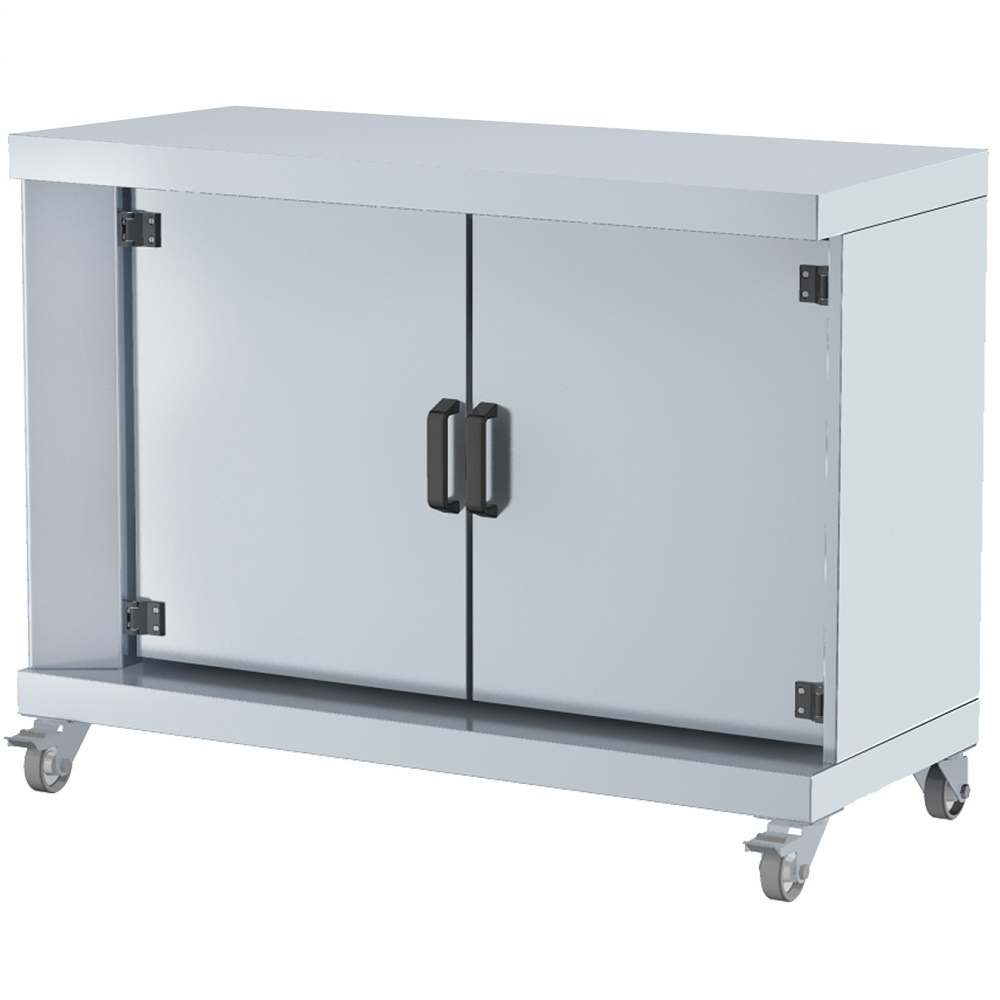 Eurast 53020G13 Base cabinet serie m 2 doors and wheels - 1200x500x900 mm