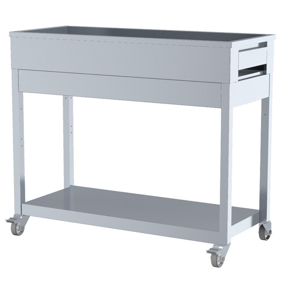 Eurast 5354BG13 Chopping table 1 shelf - 1200x500x1050 mm