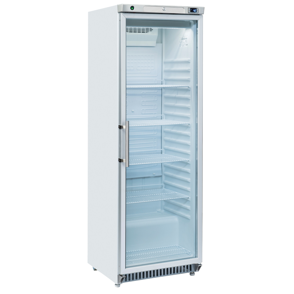 STATIC FREEZER CABINET WITH GLASS DOOR