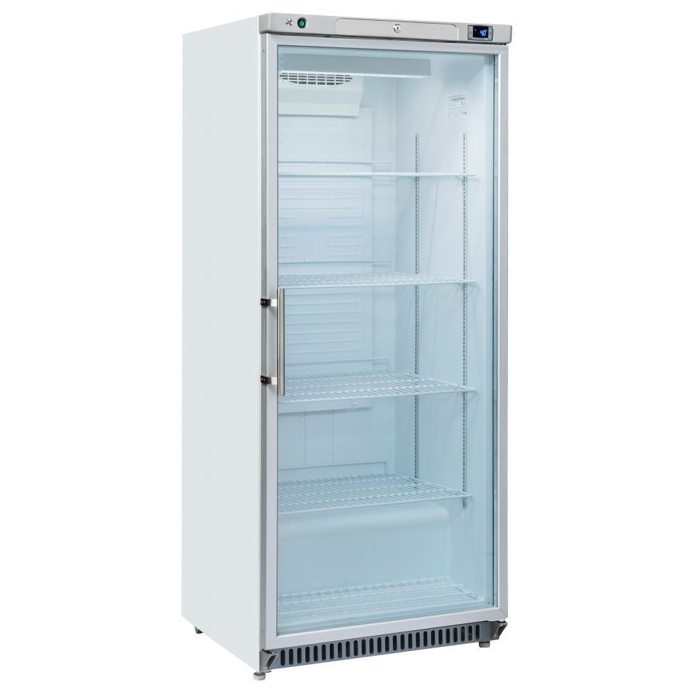 Eurast 76NC106S Armario congelador estático con puerta cristal 600 litros - 780x740x1870 mm - 200 W