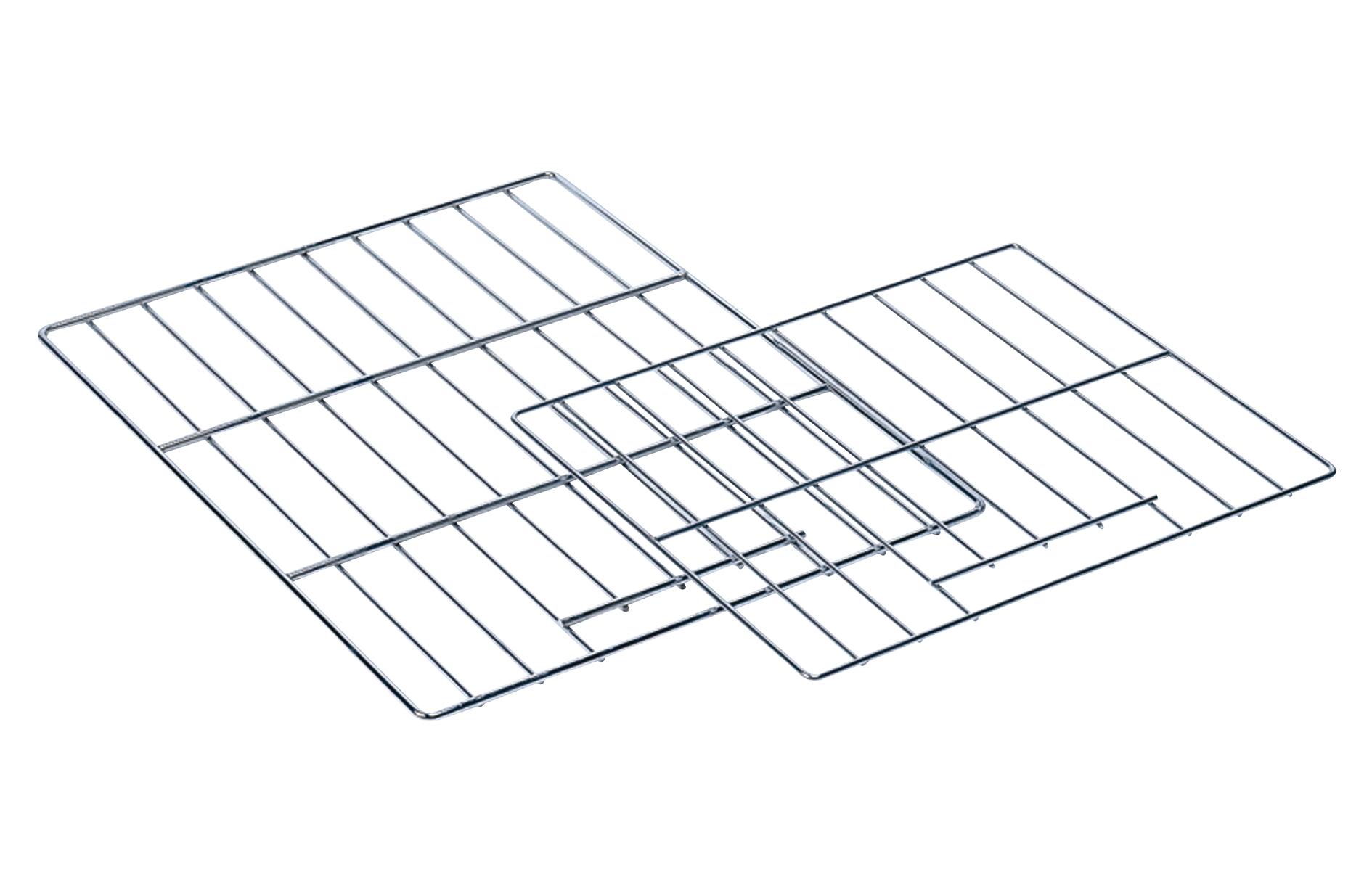 Eurast 37710000 Rejilla de acero inox en 400x600 - 400x600 mm