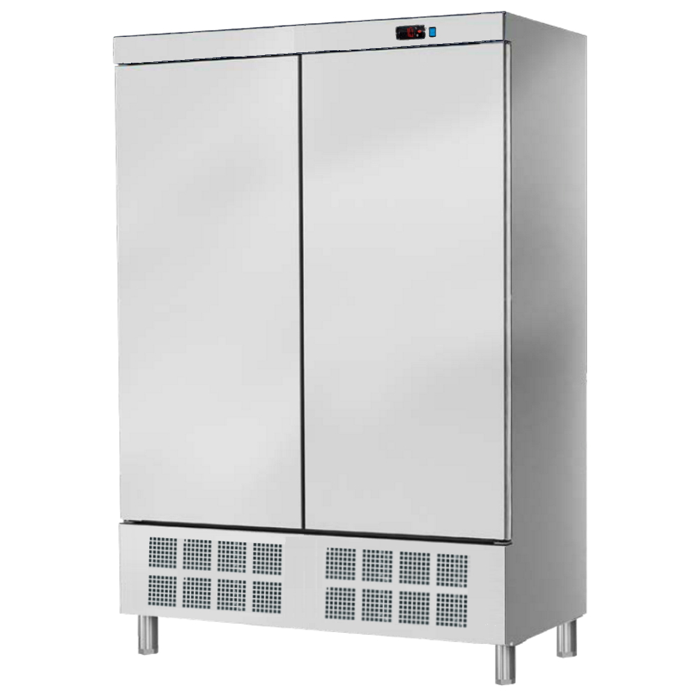 Eurast 74020609 Refrigerated cabinet 2 double doors 560 x 542 - 1400x720x2070 mm - 400 W 230/1V