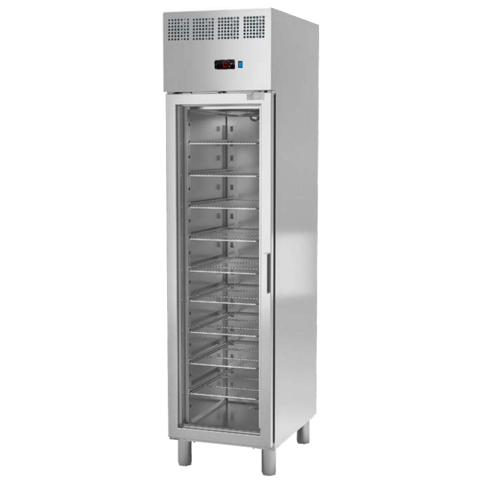 Eurast 79880609 Refrigerated cabinet 1 glass door 325x530 gn 1/1 - 470x700x2010 mm - 300 W 230/1V