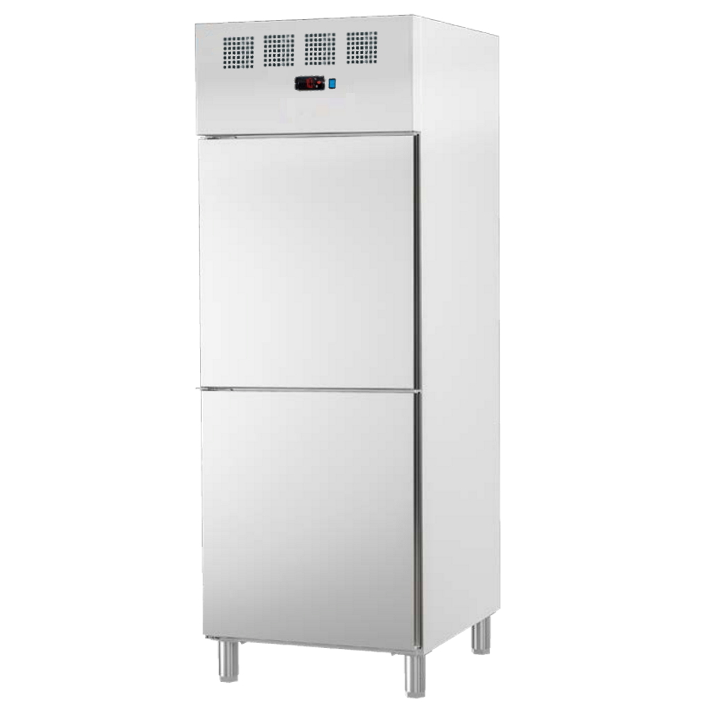 Eurast 74399509 Refrigerated cabinet 2 doors 530x650 gn 2/1 or 400x600 - 700x820x2010 mm - 700 W 230