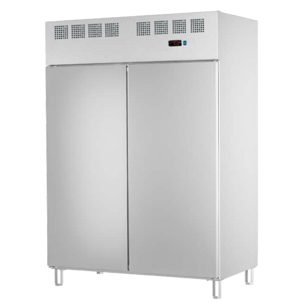 Eurast 77399509 Refrigerated cabinet 2 doors 530x650 gn 2/1 or 400x600 - 1400x820x2010 mm - 700 W 23