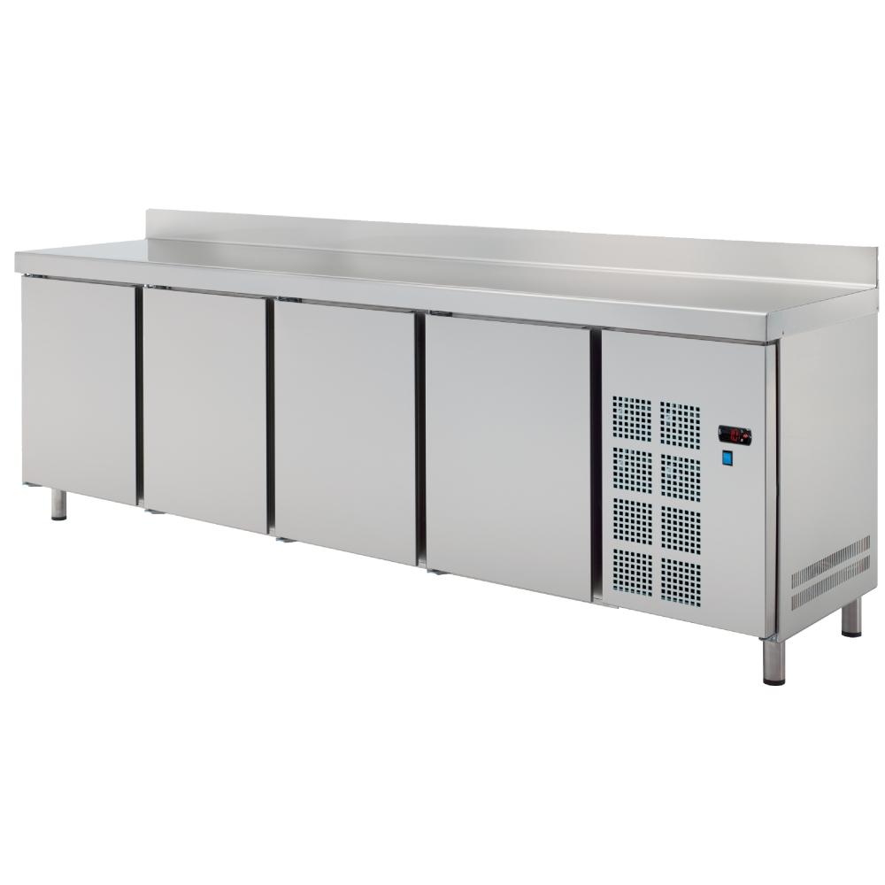 Eurast 70289509 Cold table 4 doors - 2545x600x850 mm - 400 W 230/1V